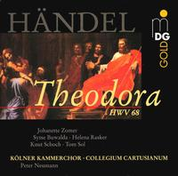 Händel: Theodora - Helena Rasker (mezzo-soprano); Johannette Zomer (soprano); Knut Schoch (tenor); Marco Schweizer (tenor);...