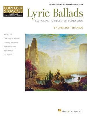 Hal Leonard Student Piano Library Tsitsaros Lyric Ballads Pf Bk/CD -