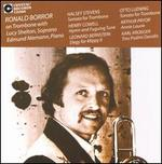 Halsey Stevens: Sonata for Trombone: Henry Cowell: Hymna and Fuguing Tune; Bernstein: Elegy for Mippy II