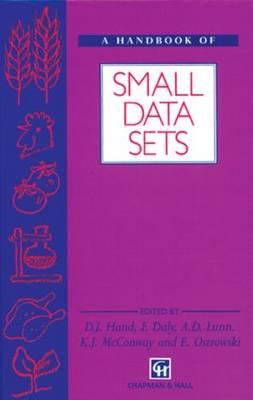 Handbook of Small Data Sets - Hand, David J, and Daly, Fergus, and McConway, K