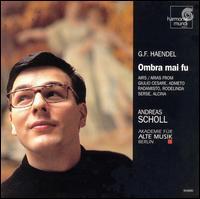 Handel: Airs, Overtures and Concerti - Alessandro Scarlatti Orchestra, Naples; Andreas Scholl (counter tenor)