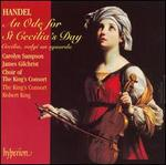 Handel: An Ode for St. Cecilia's Day