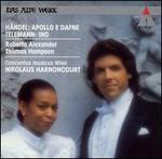 Handel: Apollo e Dafne; Telemann: Ino