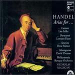 Handel: Arias for Cuzzoni, Durastanti, Senesino, Montagnana