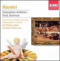 Handel: Coronation Anthems; Dixit Dominus - Andrew Davis (harpsichord); Charles Daniels (tenor); David Briggs (organ); Gerald Finley (bass); Janet Baker (mezzo-soprano);...