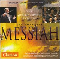 Handel: Messiah - Craig Trompeter (cello); David Bachman (organ); Eric Udzynski (harpsichord); Jeffrey Strauss (bass); Maria Jette (soprano);...