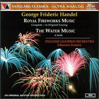 Handel: Royal Fireworks Music; The Water Music - Alan Civil (horn); Derek Wickens (oboe); English Chamber Orchestra (chamber ensemble); Harold Lester (harpsichord);...