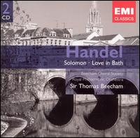 Handel: Solomon; Love in Bath - Alexander Young (tenor); Elsie Morison (soprano); Ilse Hollweg (soprano); John Cameron (baritone); Lois Marshall (soprano);...