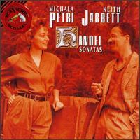 Handel: Sonatas - Keith Jarrett (harpsichord); Michala Petri (recorder)