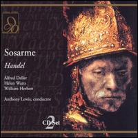 Handel: Sosarme - Alfred Deller (vocals); Helen Watts (vocals); Ian Wallace (vocals); John Kentish (vocals); Margaret Ritchie (vocals);...