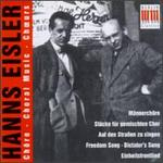 Hanns Eisler: Choral Music