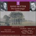 Hans Hotter: Der Liedersänger, Vol. 1