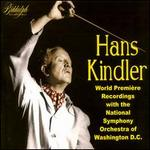 Hans Kindler World Premiere Recordings