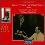 Hans Pfitzner, Richard Strauss: Lieder