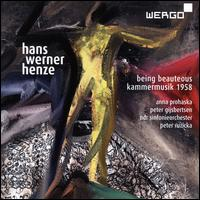 Hans Werner Henze: Being Beauteous; Kammermusik, 1958 - Andreas Grünkorn (cello); Anna Prohaska (soprano); Fabian Diederichs (cello); Jürgen Ruck (guitar); Katharina Kühl (cello);...