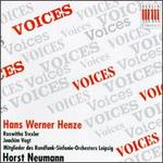 Hans Werner Henze: Voices