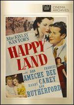 Happy Land - Irving Pichel