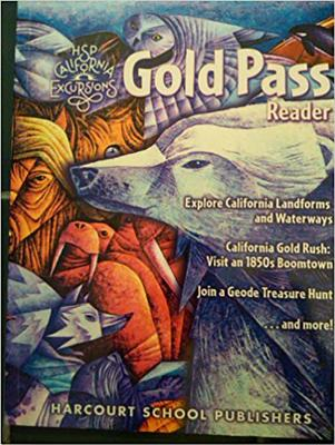Harcourt School Publishers Storytown California: Gold Pass Rdr Se Grade 4 2010 - HSP