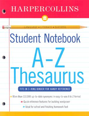 HarperCollins Student Notebook A-Z Thesaurus - Harper Collins (UK)