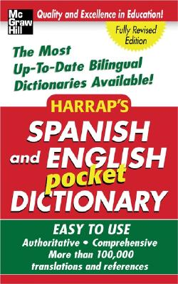 Harrap's Spanish and English Pocket Dictionary - McGraw-Hill (Creator)