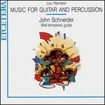 Harrison: Music for Guitar and Percussion