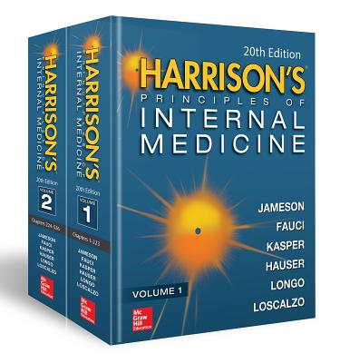 Harrison's Principles of Internal Medicine, Twentieth Edition (Vol.1 & Vol.2) - Larry Jameson, J, and Fauci, Anthony S, and Kasper, Dennis L