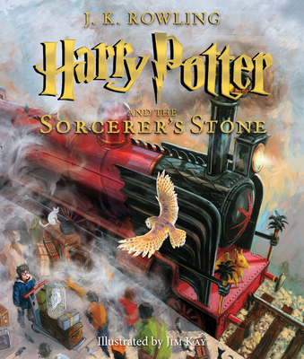 Harry Potter and the Sorcerer's Stone: The Illustrated Edition (Harry Potter, Book 1), Volume 1: The Illustrated Edition - Rowling, J K