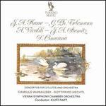 Hasse, Telemann, Vivaldi, Stamitz, Cimarosa: Concertos for 2 Flutes and Orchestra