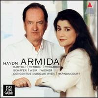 Haydn: Armida - Cecilia Bartoli (vocals); Christoph Prégardien (vocals); Concentus Musicus Wien; Markus Schafer (vocals);...