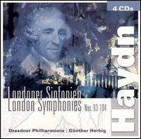 Haydn: London Symphonies, Nos. 93-104 - Dresden Philharmonic Orchestra; Gunther Herbig (conductor)