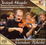 "Haydn: Sinfonia Concertante in B flat; Symphony No. 100 ""Military""; L'Isola diabitata"