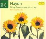 Haydn: String Quartets, Opp. 76, 77, 103