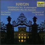 "Haydn: Symphonies Nos. 31 ""Hornsignal"" & 45 ""Farewell"""