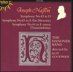Haydn: Symphonies Nos. 42, 43, 44