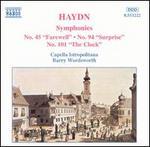 Haydn: Symphonies Nos. 45, 94 & 101