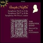 Haydn: Symphonies Nos. 76-78
