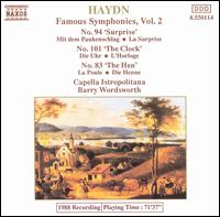 Haydn: Symphonies Nos. 83, 94, 101 - Capella Istropolitana; Barry Wordsworth (conductor)