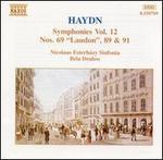 "Haydn: Symphonies, Vol. 12 - Nos. 69 ""Laudon"", 89 & 91"