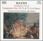Haydn: Symphonies, Vol. 25 - Nos. 70, 71 & 73