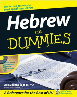 Hebrew for Dummies - Jacobs, Jill Suzanne