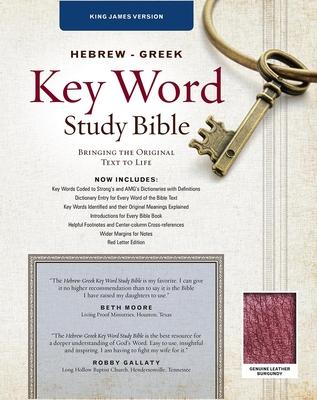 Hebrew-Greek Key Word Study Bible-KJV - Zodhiates, Spiros, Dr. (Editor), and Baker, Warren Patrick, Dr. (Editor)