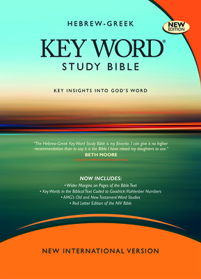 Hebrew-Greek Key Word Study Bible-NIV-Wide Margin - Zodhiates, Spiros, Dr. (Editor), and Baker, Warren Patrick, Dr. (Editor)