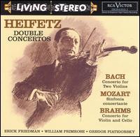 Heifetz: Double Concertos - Erick Friedman (violin); Gregor Piatigorsky (cello); Jascha Heifetz (violin); Thornton Lofthouse (harpsichord);...