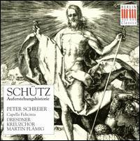 Heinrich Schütz: Auferstehung - Achim Zimmermann (soprano); Armin Ude (tenor); Eberhard Büchner (tenor); Egbert Junghanns (soprano);...