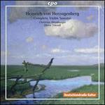 Heinrich von Herzogenberg: Complete Violin Sonatas