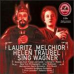 Helen Traubel and Lauritz Melchior Sing Wagner - Astrid Varnay (soprano); Helen Traubel (soprano); Herbert Janssen (baritone); Herta Glaz (mezzo-soprano); Kurt Baum (tenor);...