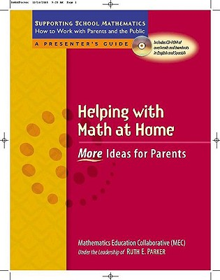 Helping with Math at Home: More Ideas for Parents - Parker, Ruth