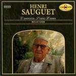 Henri Sauguet: Complete Piano Works