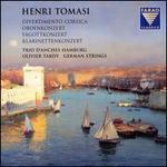 Henri Tomasi: Divertimento Corsica; Oboenkonzert; Fagottkonzert; KlarinettenKonzert