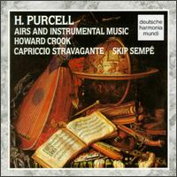Henry Purcell: Airs and Instrumental Music - Alice Pierot (violin); Bruce Kennedy (harpsichord); Bruce Kennedy (cembalo); Christine Plubeau (viola da gamba);...